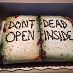 @WalkingDead_AMC #TWDFinaleParty our awesome cake for tonight! http://t.co/Af76lFsvHO