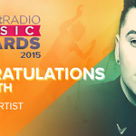Congrats to the one and only @samsmithworld on winning #BestNewArtist at our #iHeartAwards! http://t.co/XjKGFFjs8g