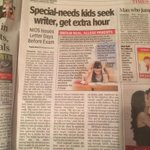 Children with special needs must get the writers they need..our eps http://t.co/IxoCpSVqpL it's their right  @toi