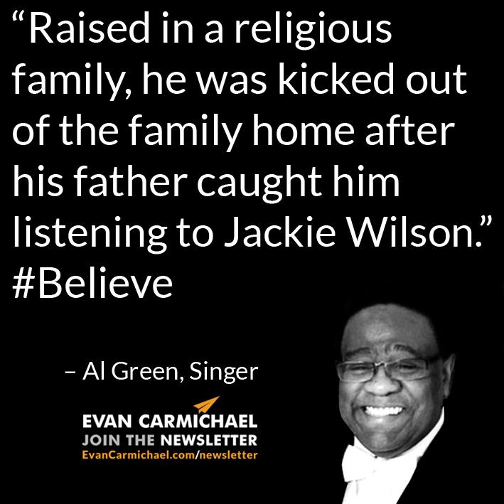 """Raised in a religious family, he was kicked out of the family home after his father caught him listening to J ... http://t.co/AlM4DixF65"