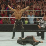 The Architect sure planned this one out to PERFECTION!! @WWERollins #WrestleMania #MITB http://t.co/RcwcomQNGT
