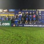 """""""@CONMEBOL_CSF: #Ecuador recibe las medallas del 3er puesto. #SudamericanoSub17 http://t.co/P14SnHgsW5"""""""