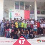 Esto fue lo que logró el Rally, un gran número de jóvenes los cuales ayudaron con su participación. http://t.co/DT9j6g6aYt