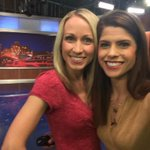 A quick pic during weather! Sports is coming up in one minute on @WFMY @mchightower http://t.co/Y7A2iicDgO