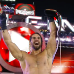 VIDEO: Seth Rollins Surprises Brock Lesnar And Roman Reigns To Win WWE Championship - http://t.co/AskoOUlHOU http://t.co/0V2i7GjsX7