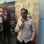 RT @DoneChannel1: @Dhananjayang arrives for the audio launch of #kutramKadithal at @sathyam_cinemas  @JSKfilmcorp @NaanChristy
