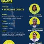 Debate #ReformaLaboral con .@alexocles del .@BloqueAP35 11 abril #Quito http://t.co/LkM4sJSDW5