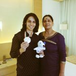 With mummy and india open medal ???????????????? http://t.co/D2uwECYRGg
