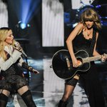 SO THAT HAPPENED! @Madonna @taylorswift13 #iHeartAwards http://t.co/dFd7WF56a2 http://t.co/d8DftHqJYZ