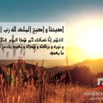 أصبحنا و أصبح الملك لله رب العالمين #صباح_الخير http://t.co/fSYlmybC6w