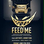 DALLAS! RT for a chance to win a ticket to FeedMe! •Must follow: @TX_Rager93 @TexasEDMFamily @DallasRagers •Ends 6/4 http://t.co/l5rKSQH1pk