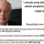 """@Fadzli___: ""maka bunuhlah dia"" ..jom.. hehe 😈 http://t.co/o3iRiJZvSl""Cc @NajibRazak"