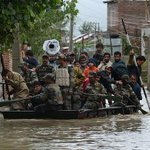 The Indian Army are the clear heroes in #KashmirFloods The ones missing in action are those who met Pak High Comm http://t.co/HqSRElOjWm