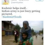 Being in the Indian Army is undoubtedly the most thankless job in the world #kashmirFloods http://t.co/sMvEwfMH0K