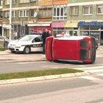 Sudar u ulici Paromlinska, Sarajevo. #sarajevo http://t.co/U6CLi34mLq