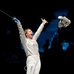 Українка Ольга Харлан виборола перемогу на Гран-Прі з фехтування на шаблях, що пройшов у Сеулі Фото НОК http://t.co/EpOmWQBNxC