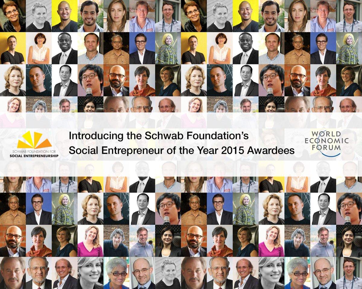Meet the Schwab Foundation 2015 social entrepreneurs of the year http://t.co/896Bi4vMgc #SEOY15 http://t.co/z7jS68m2BL