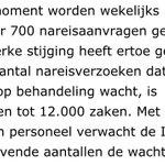 IND krijgt wekelijks 700 verzoeken van asielzoekers om andere gezinsleden naar Nederland te laten komen http://t.co/psR5ixdqEM