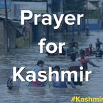 Sending out prayers to those being affected by the #kashmirFloods. Stay strong & help one another. http://t.co/jsWxAiq4Uu