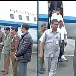 MA Naqvi (MoS, Minority Affairs) arrives in Srinagar, will take stock of flood situation in Kashmir #kashmirFloods http://t.co/Gbs2yFkDXw