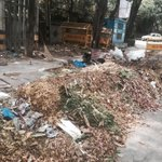 Outside @ArvindKejriwal s house! Swach Bharat anyone? http://t.co/MybDtQDPlk