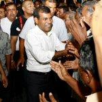 MDP ge Raees akee MDP memberun ge vote akun inthihaab kuraa meeheh. Parliament members inthihaab kuraa meeheh noon! http://t.co/NhlFk9eUNR