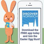 Happy #Monday! Listen to the bunny and start the #Norwich #Easter Egg Hunt this #easterholidays :D http://t.co/FsWgnVZuwE
