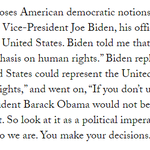 """Xi Jinping asked @JoeBiden why the U.S. put """"so much emphasis on human rights."""" http://t.co/AzGUrX5Taz http://t.co/a4WTulr5r9"""