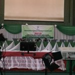 The stage is set.. #Nigeriadecides http://t.co/i12bmKAY0t
