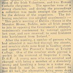 #Onthisday #1916 Dublin protest meeting at Mansion House against deportation order of Irish Volunteers. #Ireland http://t.co/Wv5mZm9JNt