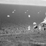 Denis Law playing his last game for Huddersfield Town against Hull City 1960 http://t.co/TksmZhATmj