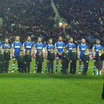 Some of our children lead out the teams at the Wigan v Wakefield game on Friday. Wigan won 52-10 @WiganWarriorsCF http://t.co/cEN1xhZO5y
