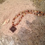 Cross necklace Semi Precious Stone Cross Necklace by JabberDuck http://t.co/gaBtRJmA4d http://t.co/4WM4U5Ha90