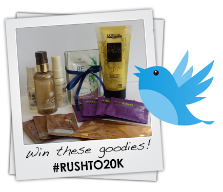 Help us get to 20k followers! Follow & RT for a chance to #WIN this fabulous bundle. #Rushto20k t&c's apply! http://t.co/x6yfwmERDd