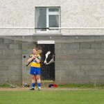 Is this the most Irish #GAA photobomb ever? @JeromeQuinn #Camogie http://t.co/cl3Sbp6KBK