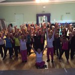 Great start to a busy week with Anne @tALkactiveLtd & the Zumba Gold team at #Holmfirth Civic Hall http://t.co/hTGpxb595j