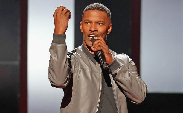 Jamie Foxx is under fire for Bruce Jenner joke at the iHeartRadioMusicAwards: