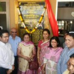 RT @rege_sd: Mahindra Grp founder's granddaughter, Mrs Radhika Nath & @supriya_sule at JC Mahindra school inauguration @ Chincholi http://t…
