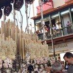 El Rey Felipe VI haciendo una llamada al palio de la Virgen de la @RedencionRocio en la Campana. @CasaReal http://t.co/wOVwLiQlsZ