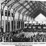 Tal día como hoy, de 1880, se inauguraba la Estación de Delicias. Sus obras costaron 2 millones de pesetas #madrid http://t.co/qzODrSgiJ3