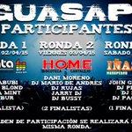13 DJs, 3 rondas, 4 finalistas y 1 final!! #essoloelcomienzo @NAVAPentagrama @DiscotecaHome #Iñasse !! RT!! http://t.co/kyyJdOSHty