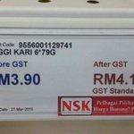 Percayakah anda! Tak payah tengok menda lain lepas GST. Tengok megi kari pun naik harga. Natangs ! http://t.co/r7RcwNbqbV