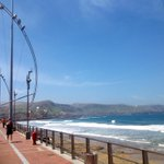 #Playas Así de impresionante está hoy el día en Las Canteras... #ViveLPGC http://t.co/2D5KUA7Gdm