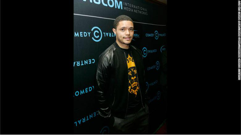 'The Daily Show' names a new host: Trevor Noah http://t.co/mpcDhOK7xF