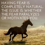 Use your fear to drive you instead of stop you!  #fear #LVM http://t.co/dc3K5KFCuB
