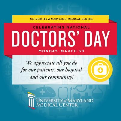 Happy #DoctorsDay! Retweet if you're thankful for a doctor in your life! http://t.co/picvULQUZr