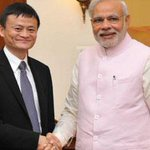 #Alibaba group founder and executive chairman Jack Ma calls on PM @NarendraModi. NEWS FLASH: http://t.co/sQKsZRHjvb http://t.co/NNigW86FNe
