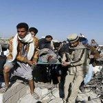 قتلى في غارة للتحالف العربي على مخيم للنازحين شمال #اليمن http://t.co/HKuPKvdPgR #عاصفة_الحزم #الحرب_ضد_الحوثيين http://t.co/7IpLIKYEr1