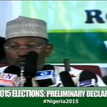 #Nigeria2015: Professor Jega reads out the 19 specific steps in the collation procedure. http://t.co/L5MrrbhtAL