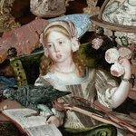 Help @NorwichCastle re-gild The Paston Treasures frame @artfund http://t.co/V5HirSGMEs #arthappens  #HeritageHour http://t.co/kb5c0tzPdX